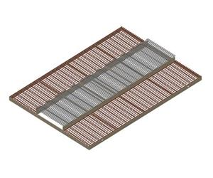 Crown Deck, Tri Max Center & Coated Wire Creep